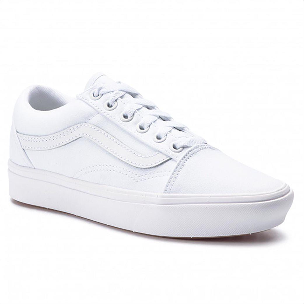 """Vans unisex sneakers suede """"Comfycush Old Skool"""" Λευκό 1"""