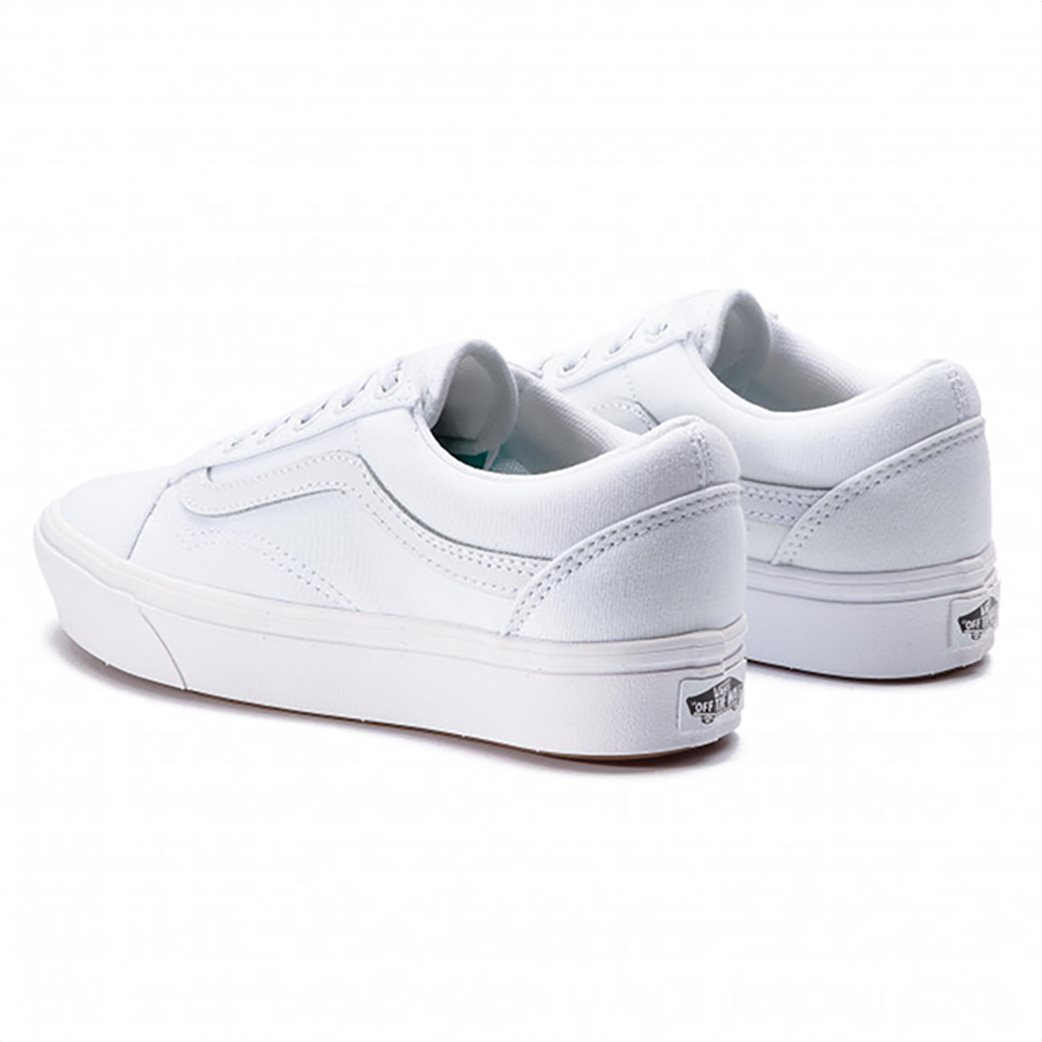 """Vans unisex sneakers suede """"Comfycush Old Skool"""" Λευκό 2"""