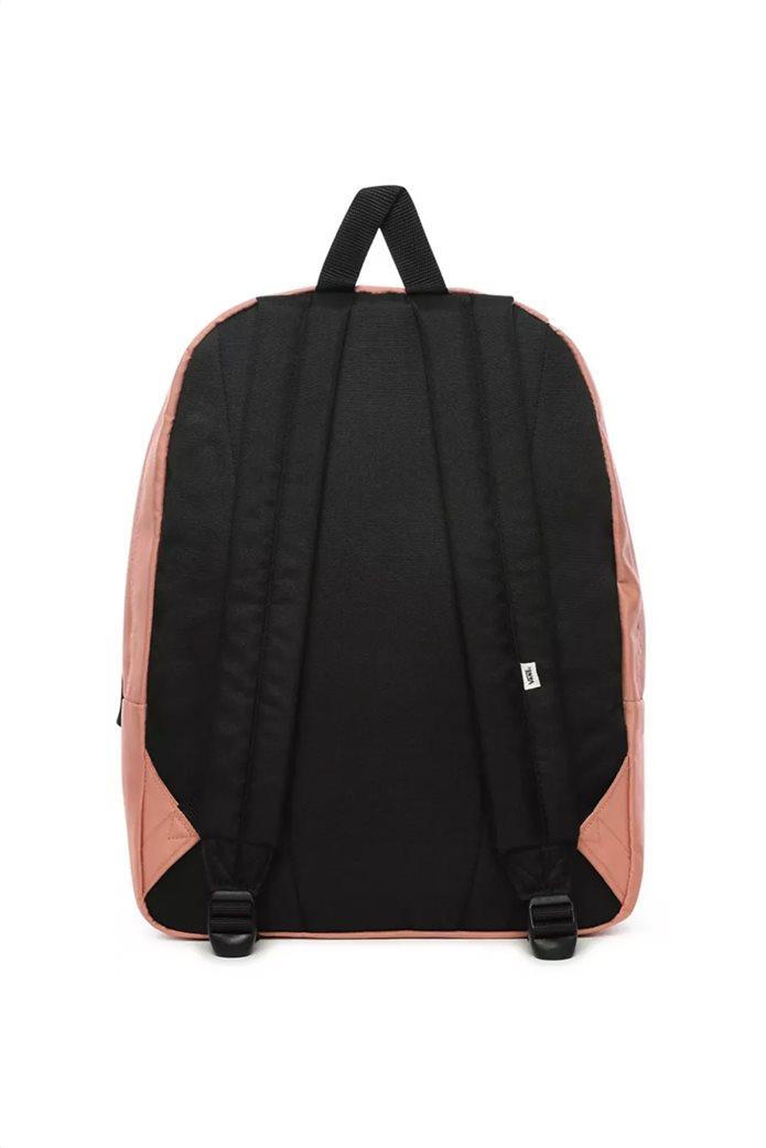 """Vans unisex backpack με logo patch """"RealM"""" Σομον 2"""