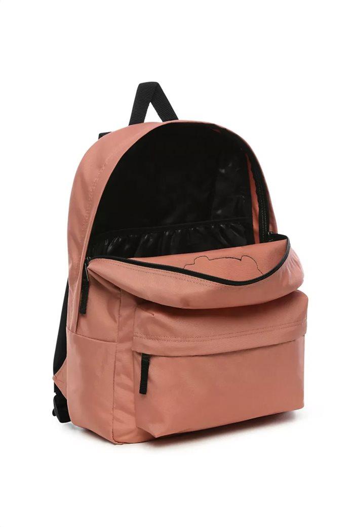 """Vans unisex backpack με logo patch """"RealM"""" Σομον 3"""
