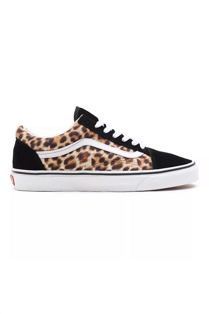 """Vans unisex suede sneakers με animal print """"Leopard Old Skool"""" 0"""