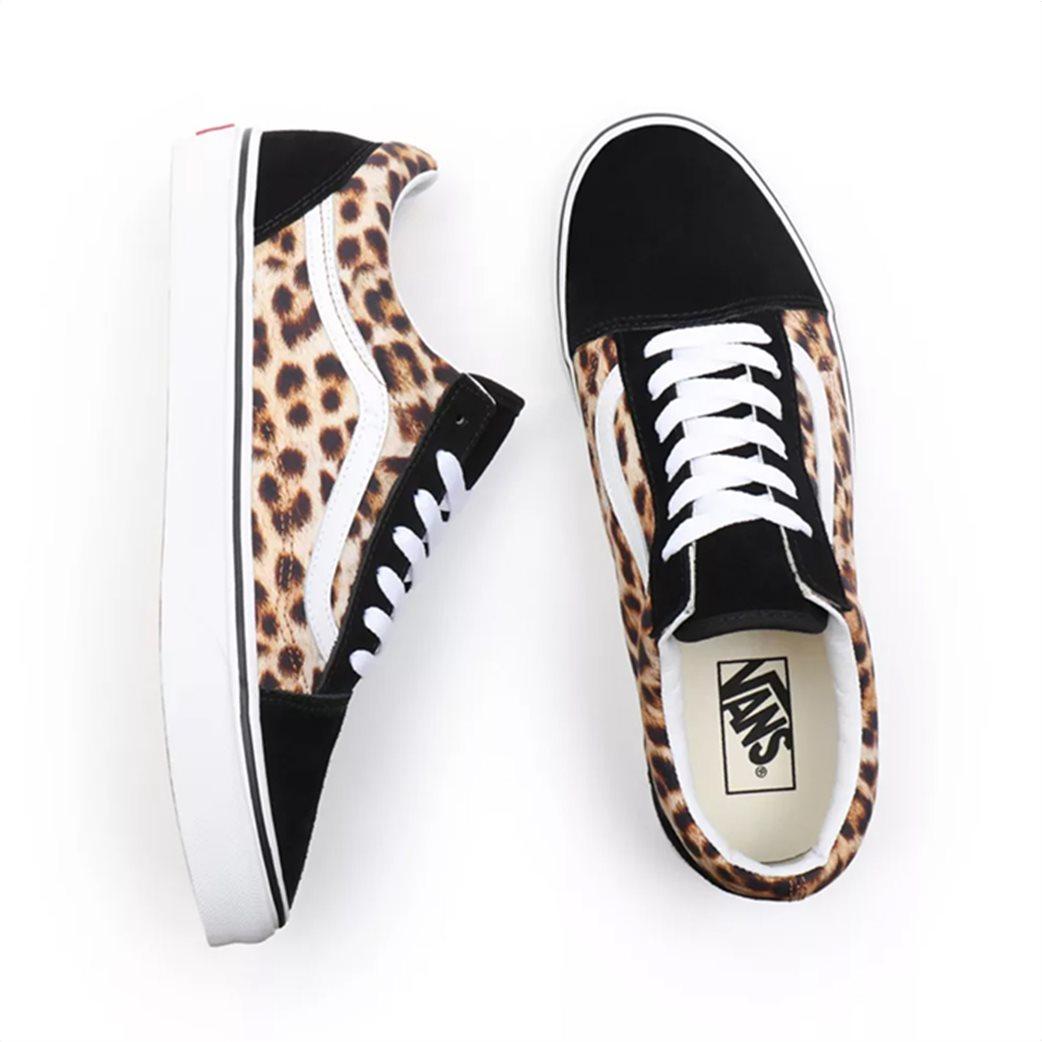 """Vans unisex suede sneakers με animal print """"Leopard Old Skool"""" 2"""