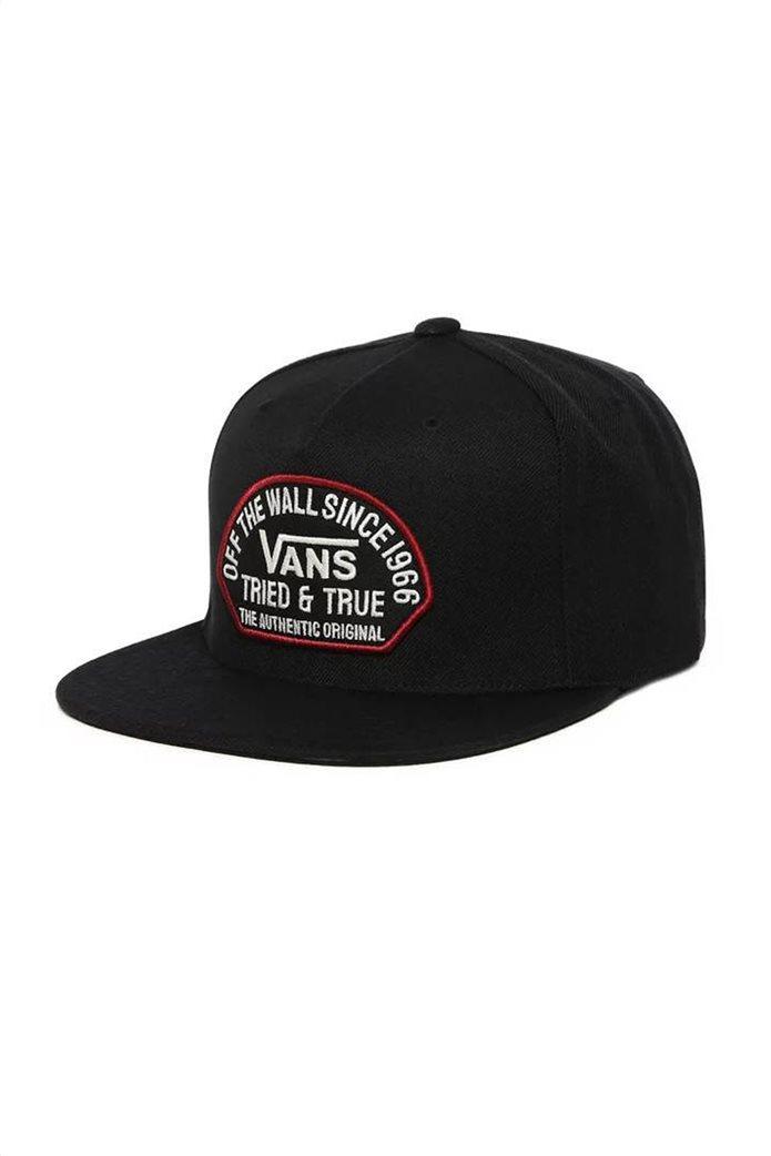 "Vans ανδρικό καπέλο με κεντημένο logo ""Authentic Snapback"" 0"