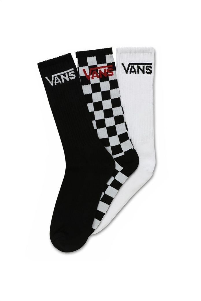 Vans σετ ανδρικές ψηλές κάλτσες με λογότυπο (3 τεμάχια) 0