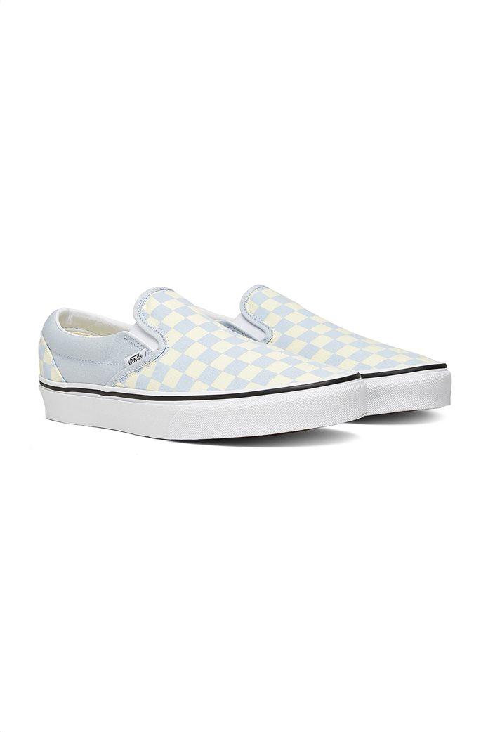 Vans unisex υφασμάτινα παπούτσια ''Classic Slip-On'' Ανοιχτό Γαλάζιο 1
