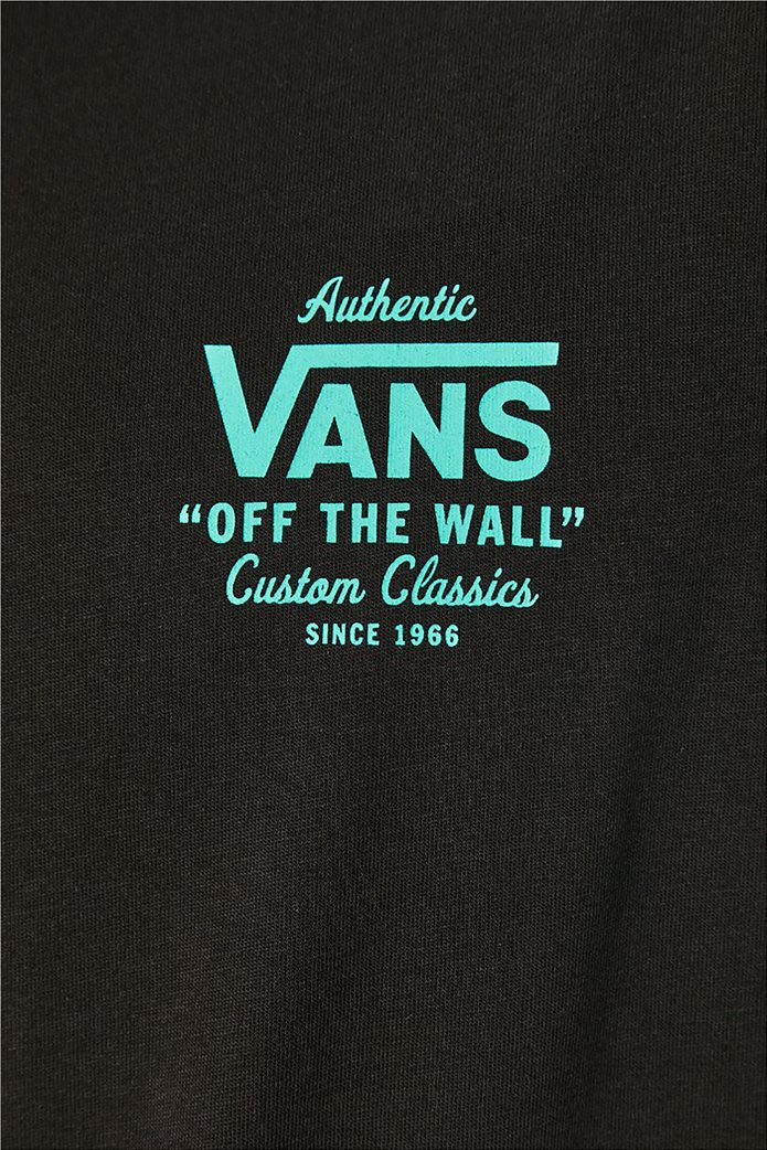 Vans ανδρικό T-Shirt με oversized logo print στο πίσω μέρος ''Holder'' Μαύρο 4