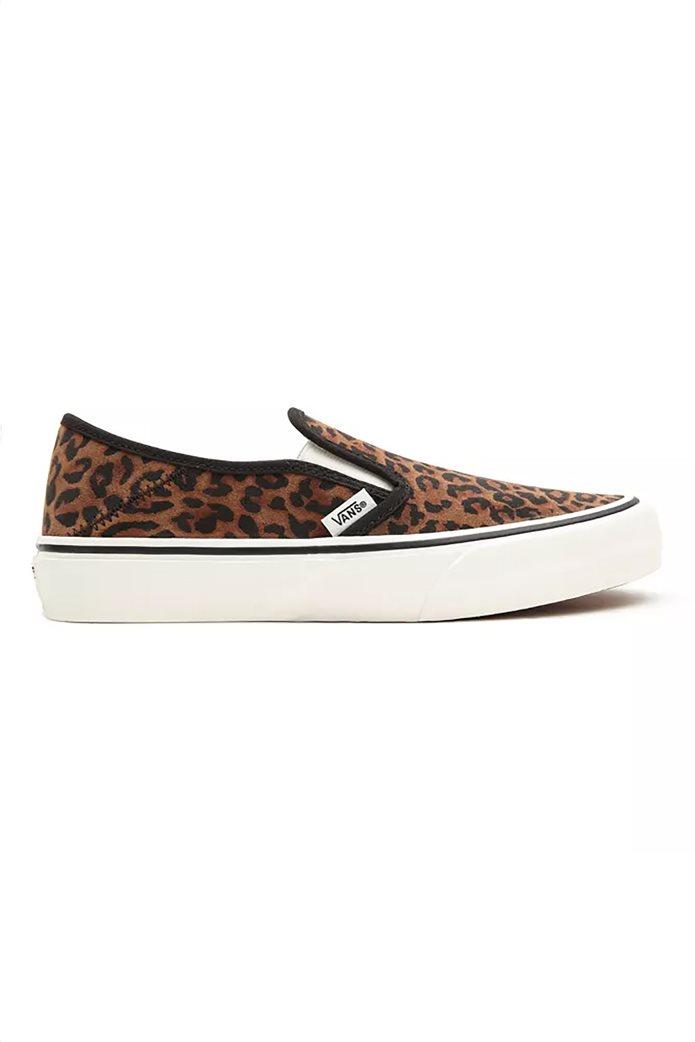 "Vans γυναικεία παπούτσια ""Leopard Slip-On"" Καφέ 0"