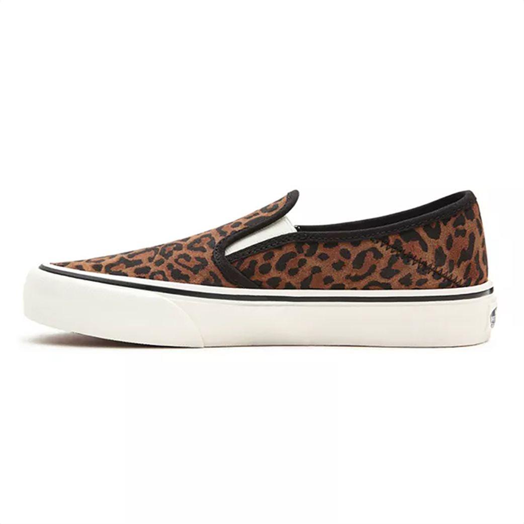 "Vans γυναικεία παπούτσια ""Leopard Slip-On"" Καφέ 2"