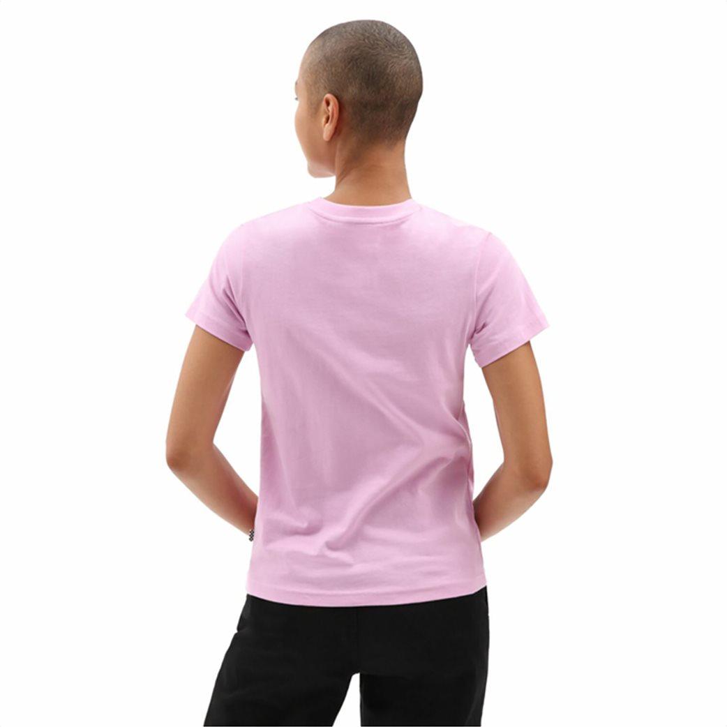 Vans γυναικείο T-Shirt με logo print ''Flying V'' 2