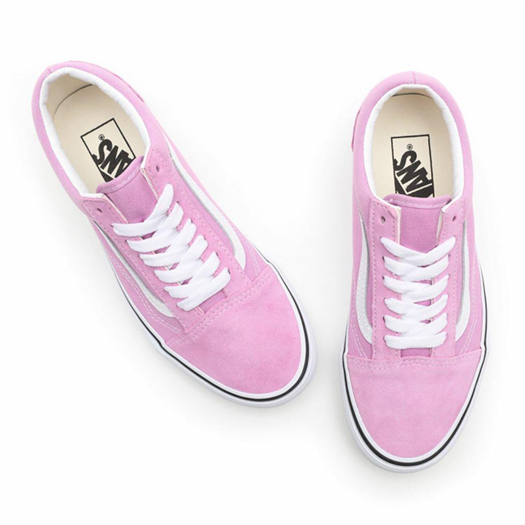 Vans γυναικεία sneakers ''Old Skool'' Λιλά 4