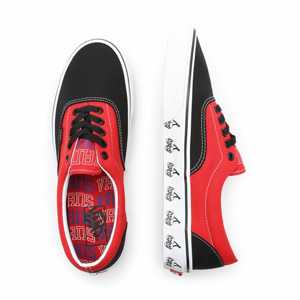 Vans ανδρικά sneakers ''New Varsity Εra'' Κόκκινο 5
