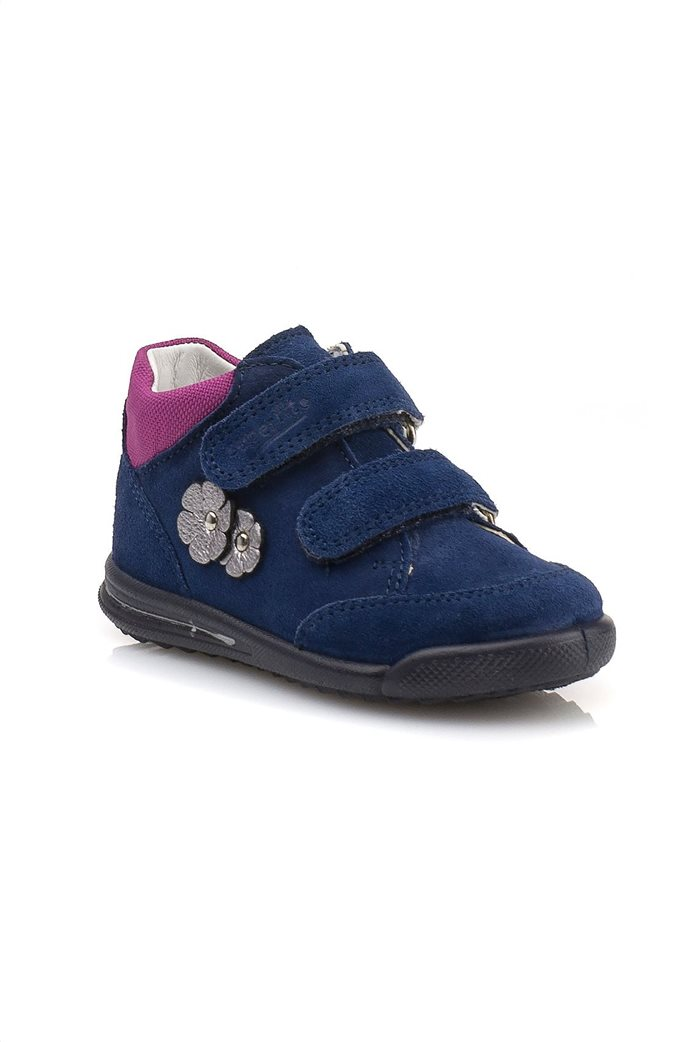 SUPERFIT βρεφικά παπούτσια με απλικέ λουλούδια 1
