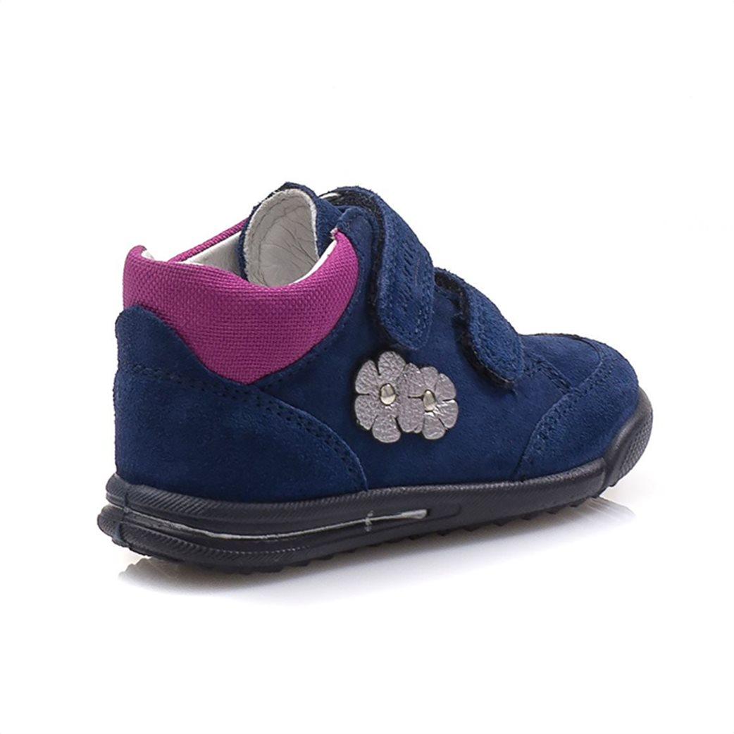 SUPERFIT βρεφικά παπούτσια με απλικέ λουλούδια 3