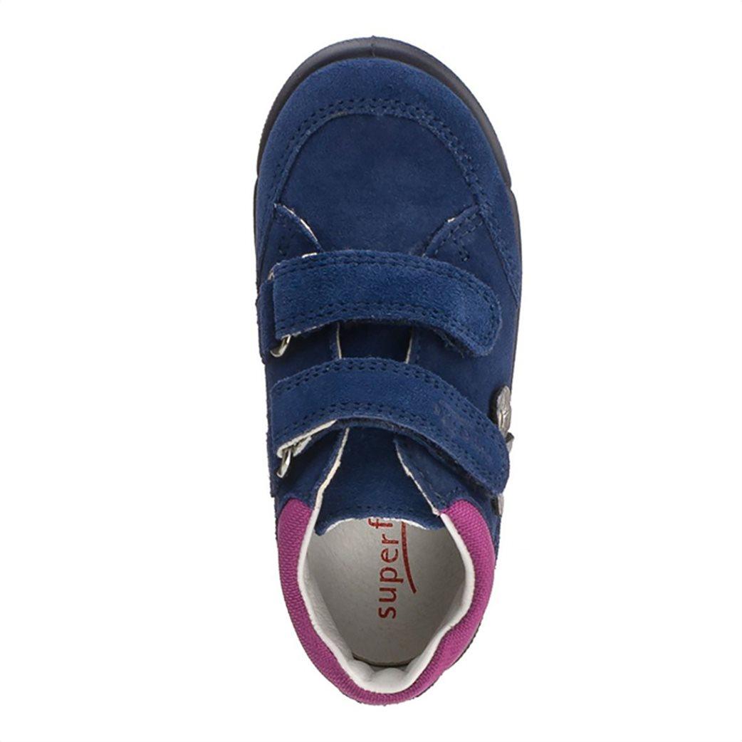 SUPERFIT παιδικά παπούτσια με απλικέ λουλούδια 5