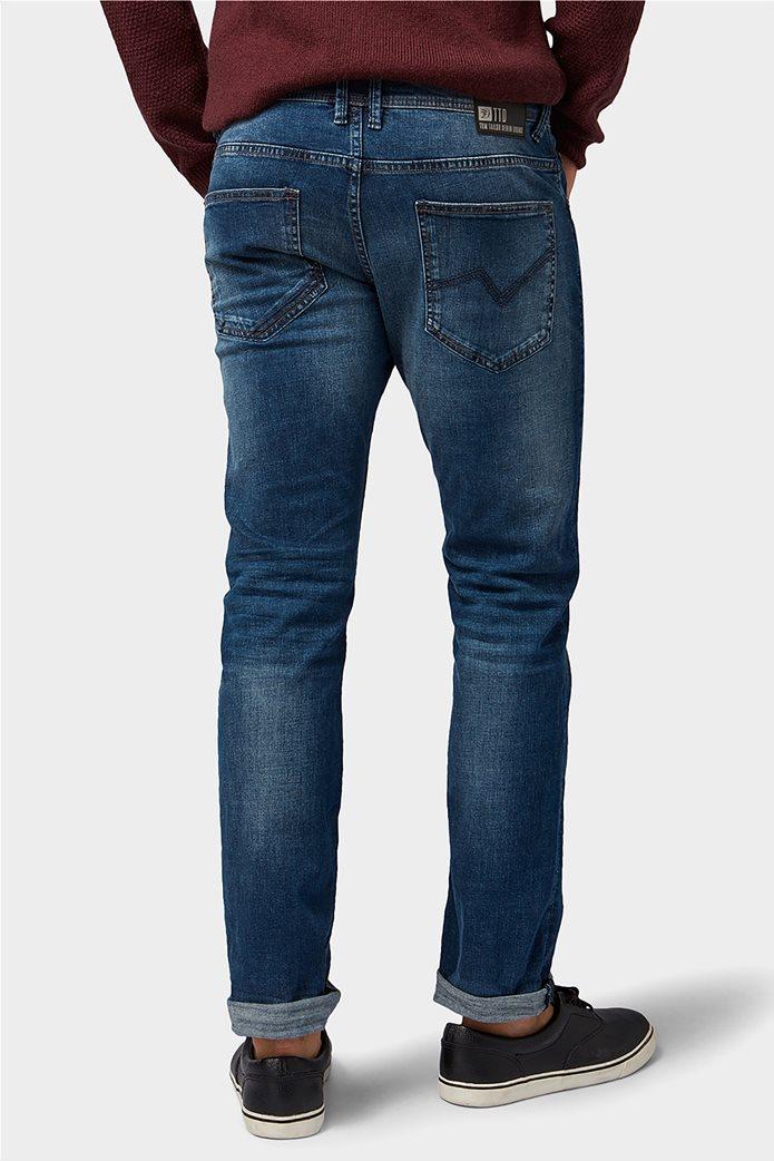 TOM TAILOR ανδρικό τζην  παντελόνι πεντάτσεπο Slim fit Aedan 3