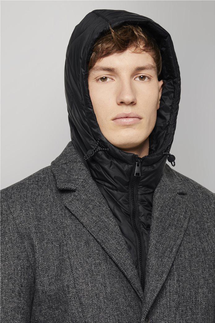Tom Tailor ανδρικό πολυμορφικό παλτό με κουκούλα 3