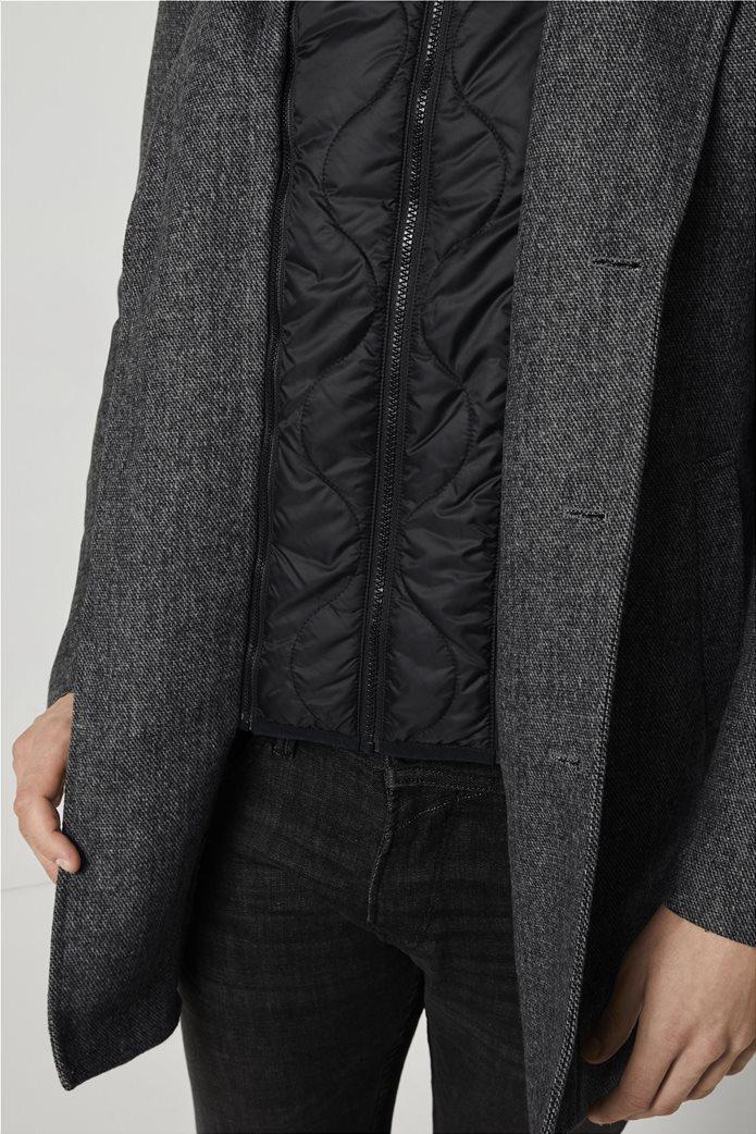 Tom Tailor ανδρικό πολυμορφικό παλτό με κουκούλα 4