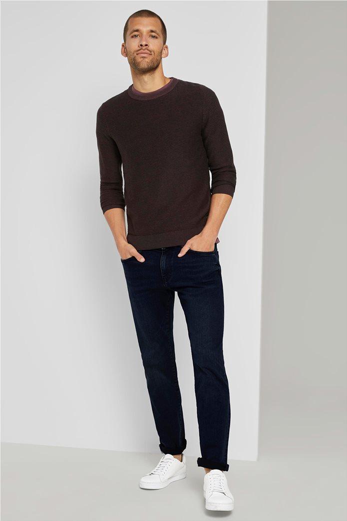Tom Tailor ανδρικό πουλόβερ ριγέ 1