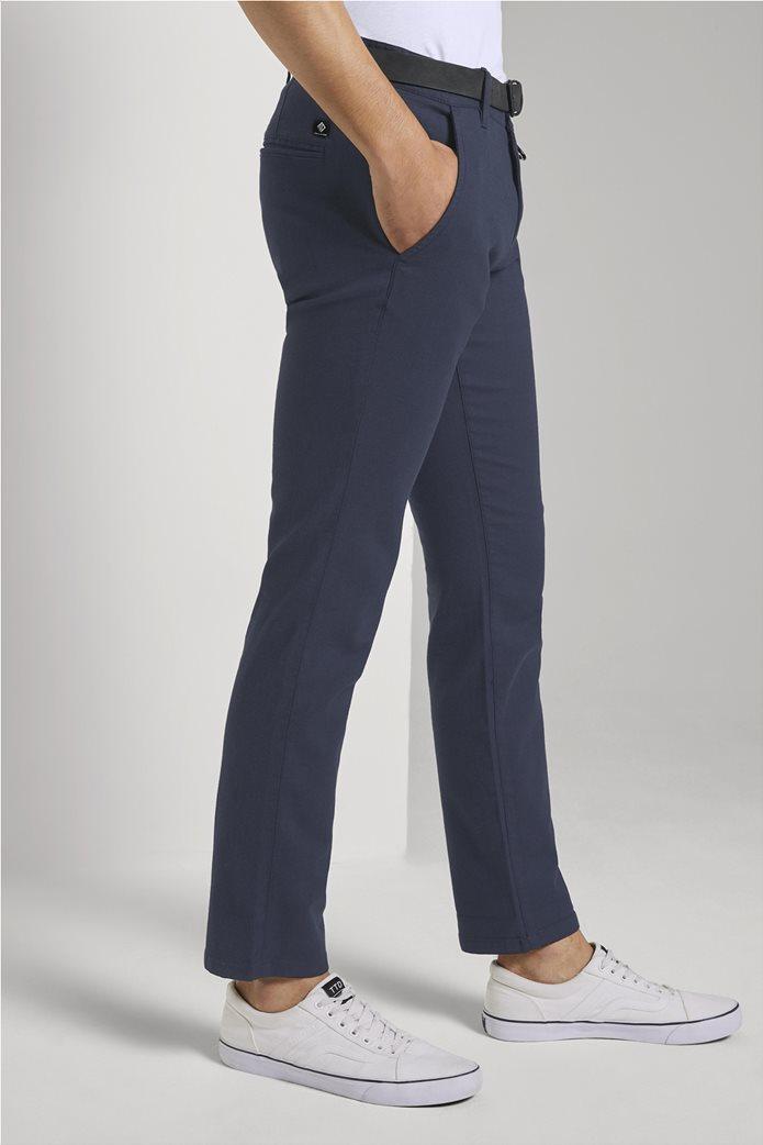 Tom Tailor ανδρικό chino παντελόνι με ανάγλυφη υφή 2
