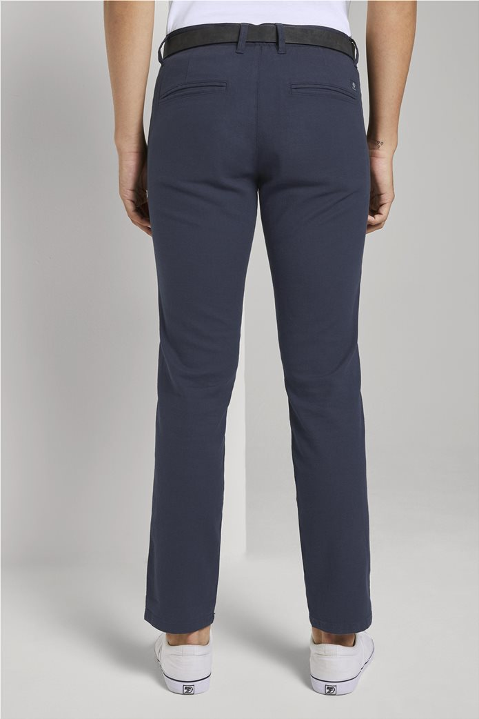 Tom Tailor ανδρικό chino παντελόνι με ανάγλυφη υφή 3