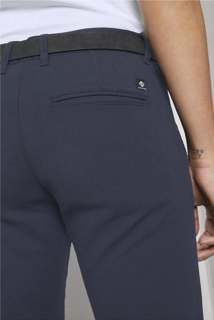 Tom Tailor ανδρικό chino παντελόνι με ανάγλυφη υφή 5
