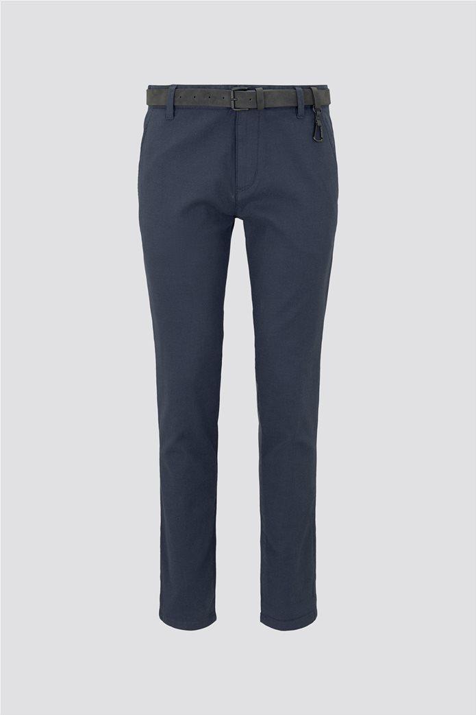 Tom Tailor ανδρικό chino παντελόνι με ανάγλυφη υφή 6