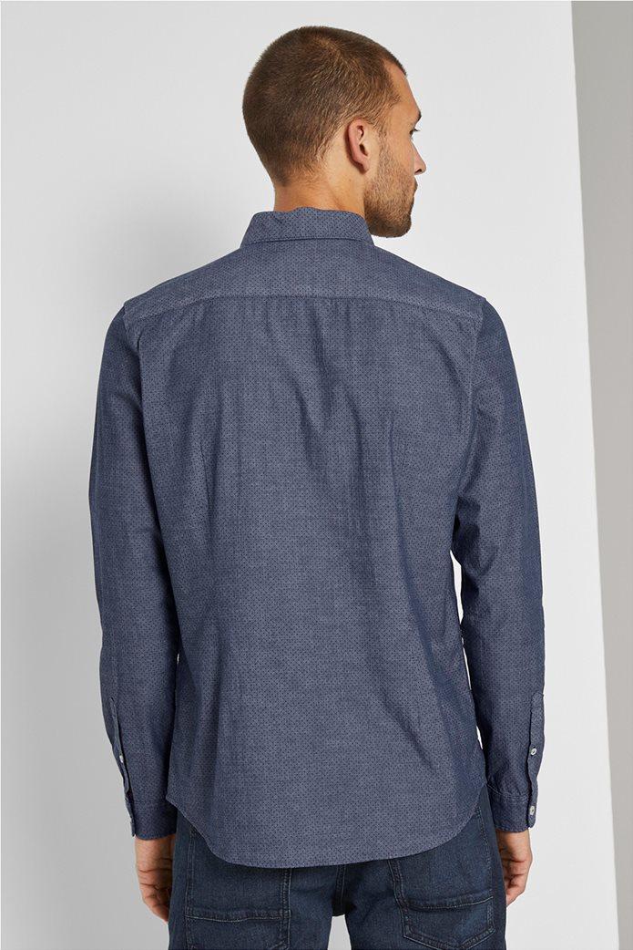 Tom Tailor ανδρικό πουκάμισο με μικροσχέδιο 2