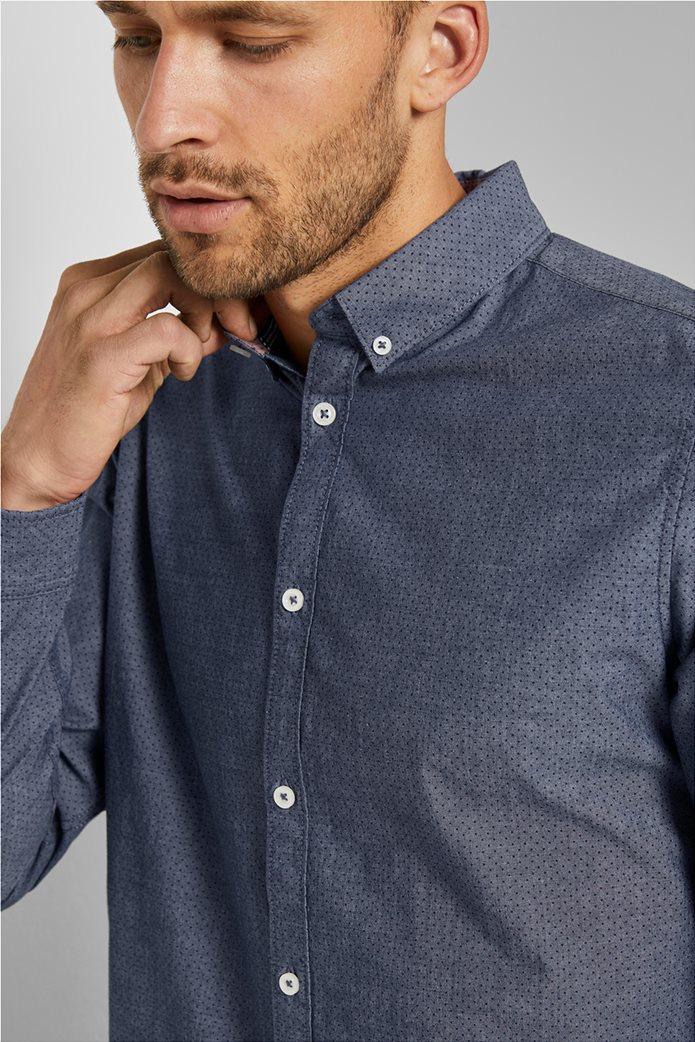 Tom Tailor ανδρικό πουκάμισο με μικροσχέδιο 3