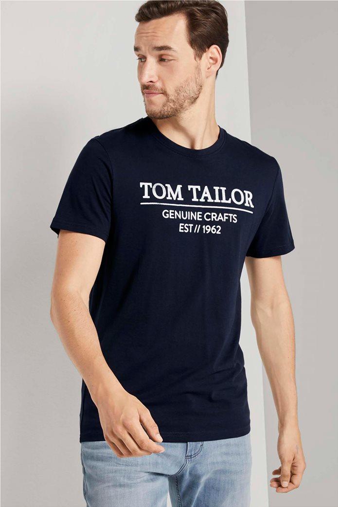 Tom Tailor ανδρικό T-Shirt με logo print 0