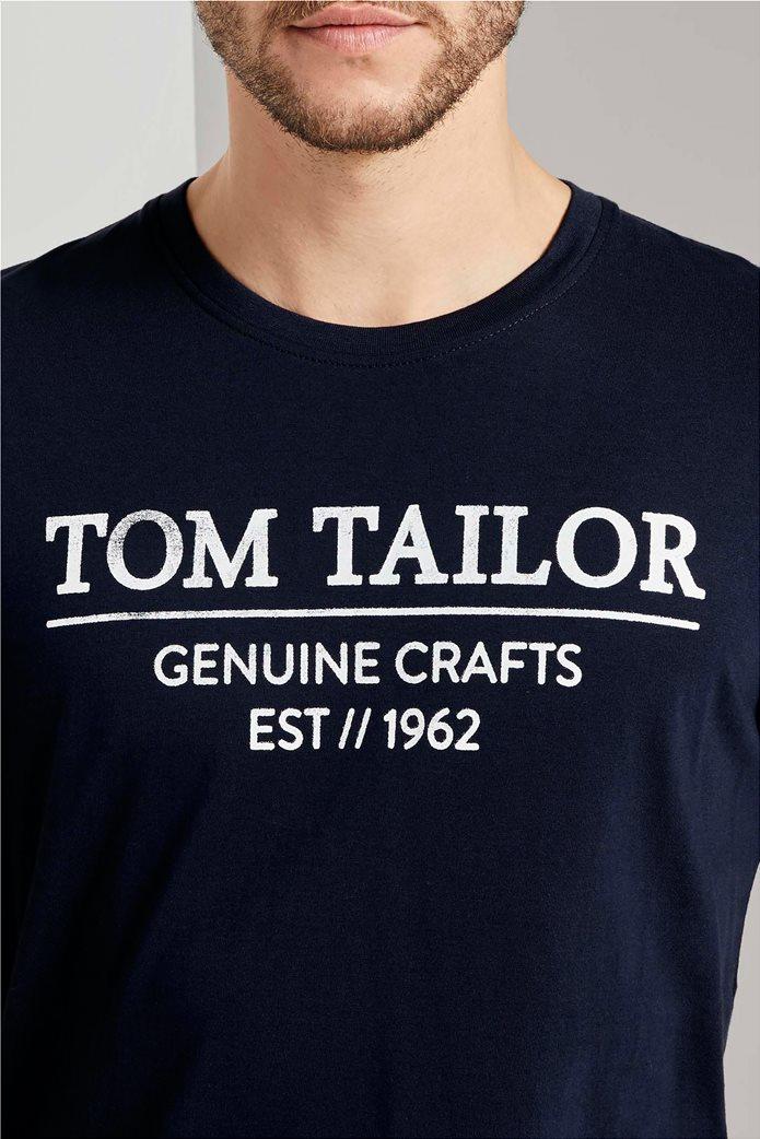 Tom Tailor ανδρικό T-Shirt με logo print 1