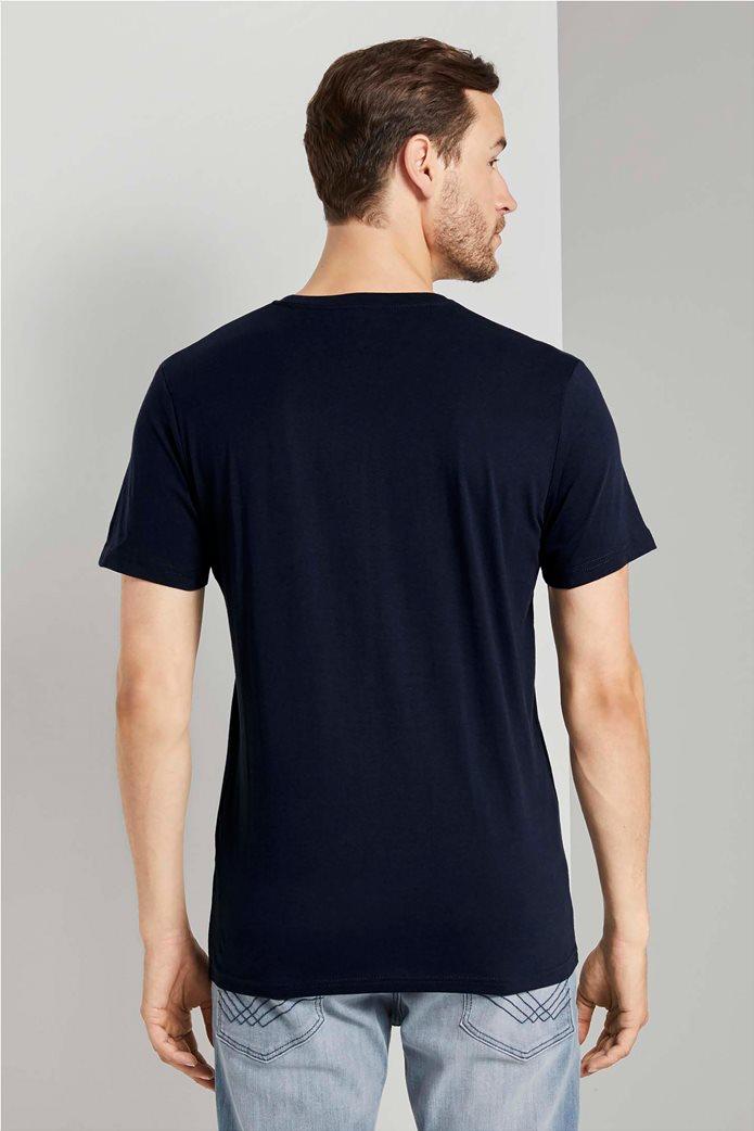Tom Tailor ανδρικό T-Shirt με logo print 3