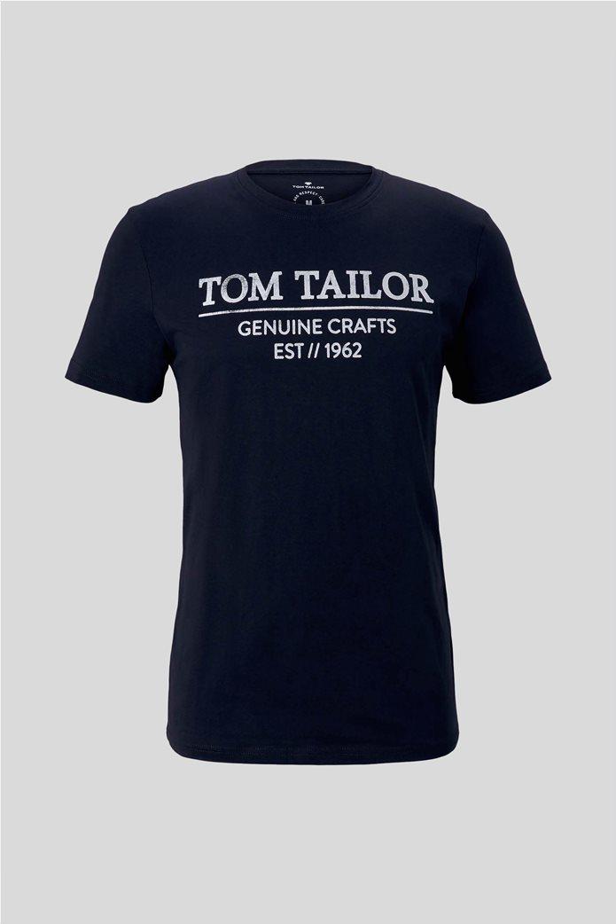 Tom Tailor ανδρικό T-Shirt με logo print 5