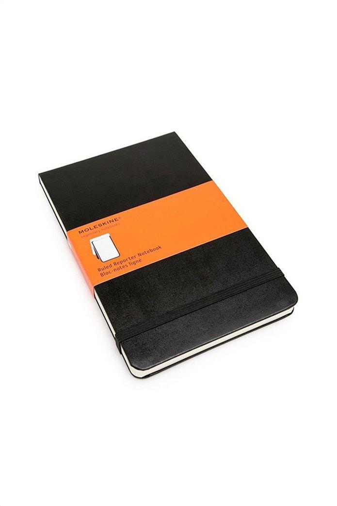 "Moleskine σημειωματάριο ""Reporter Ruled Notebook"" 0"
