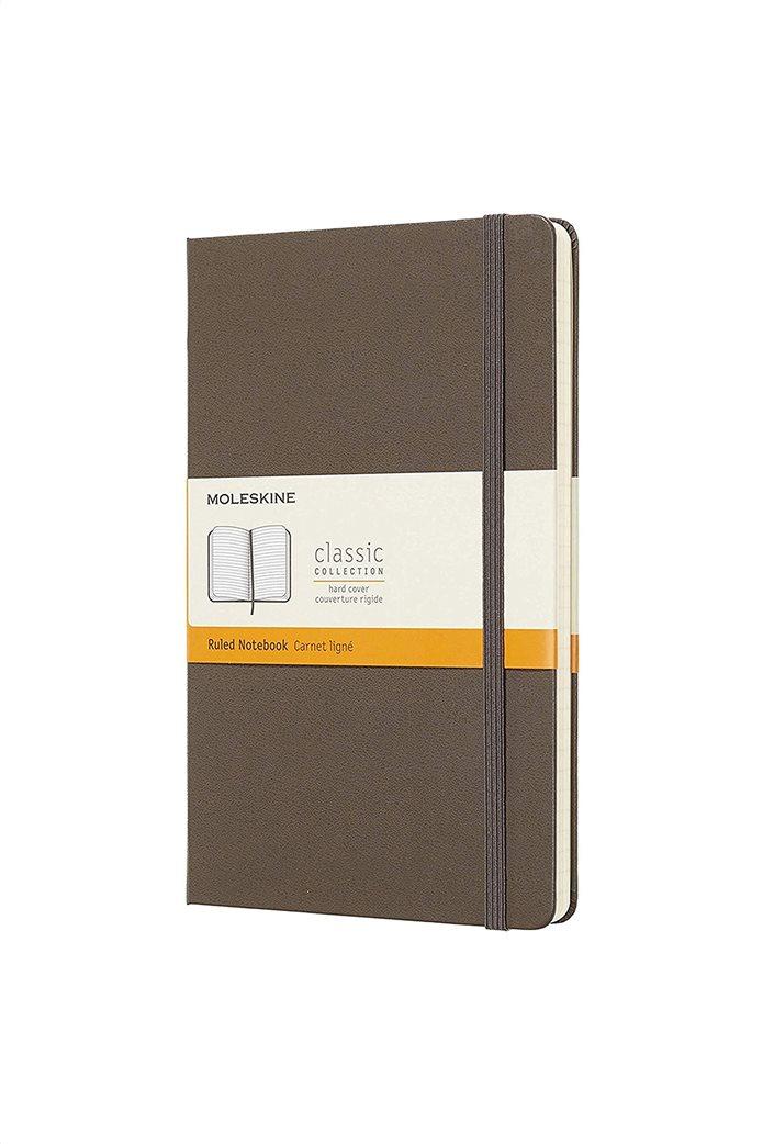 "Moleskine σημειωματάριο ""Ruled Notebook Large Earth Brown"" 0"