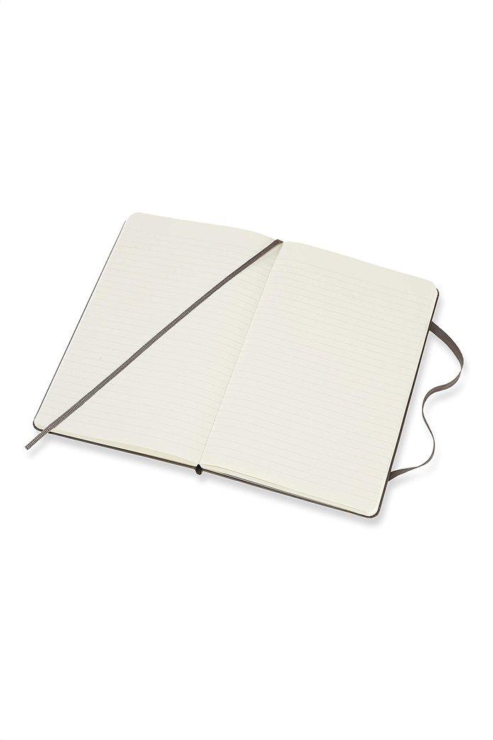 "Moleskine σημειωματάριο ""Ruled Notebook Large Earth Brown"" 1"