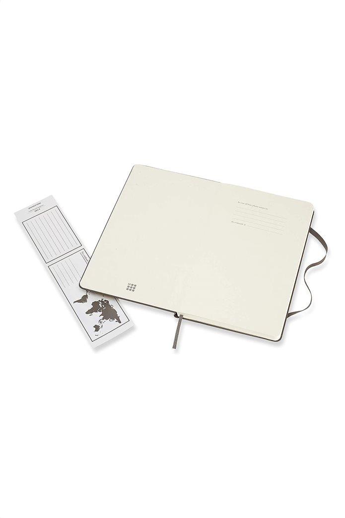 "Moleskine σημειωματάριο ""Ruled Notebook Large Earth Brown"" 2"