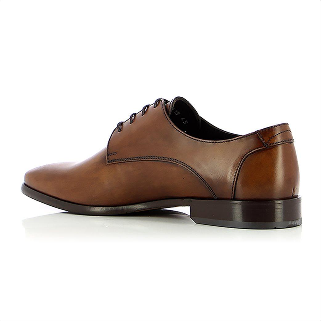 Boss Shoes ανδρικά δερμάτινα παπούτσια oxford με μεταλλικό λογότυπο 2