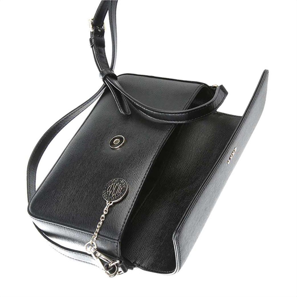 """DKNY γυναικεία δερμάτινη flap τσάντα crossbody """"Bryant"""" 2"""