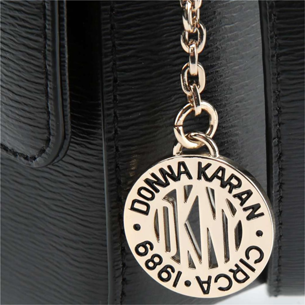 """DKNY γυναικεία δερμάτινη flap τσάντα crossbody """"Bryant"""" 3"""