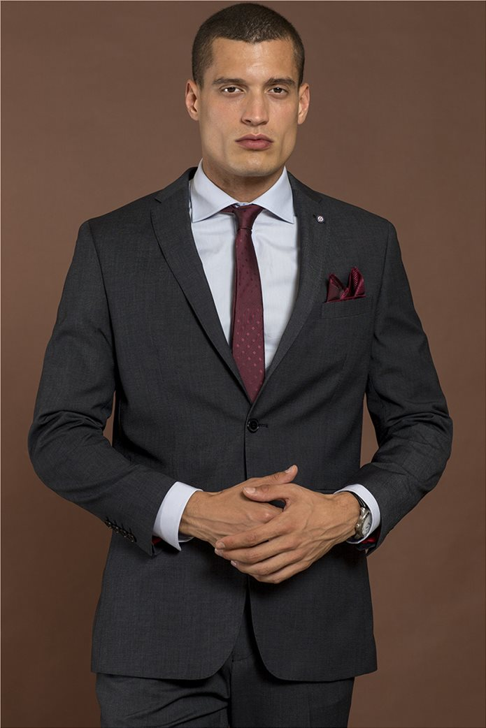 Donini Trend κοστούμι modern fit με μικροσχέδιο 1