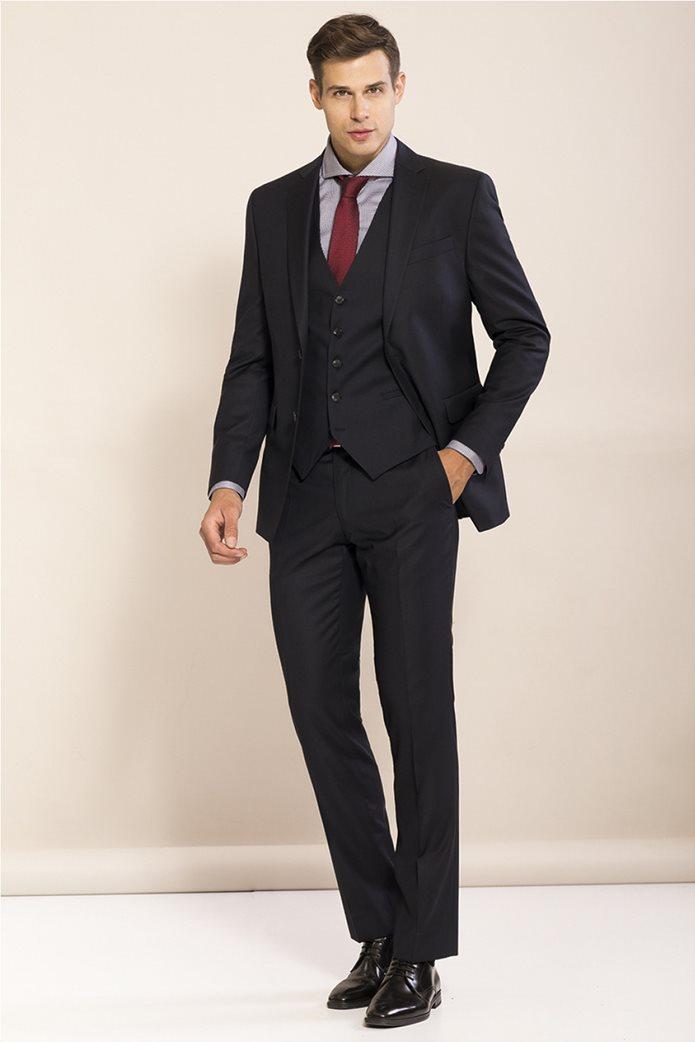 Don Hering κοστούμι 3 κομματιών Super slim fit 0