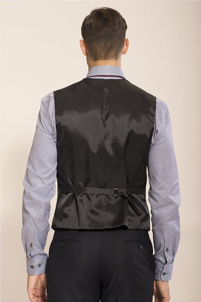 Don Hering κοστούμι 3 κομματιών Super slim fit 3