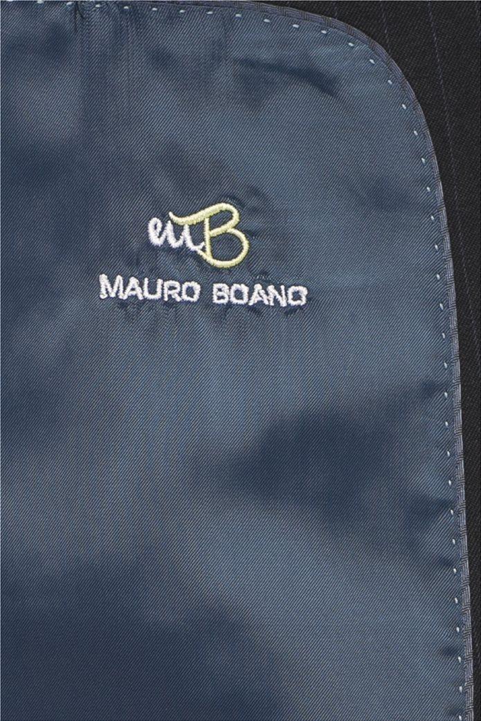 Mauro Boano ανδρικό κοστούμι 3 κομματιών slim fit ριγέ 5