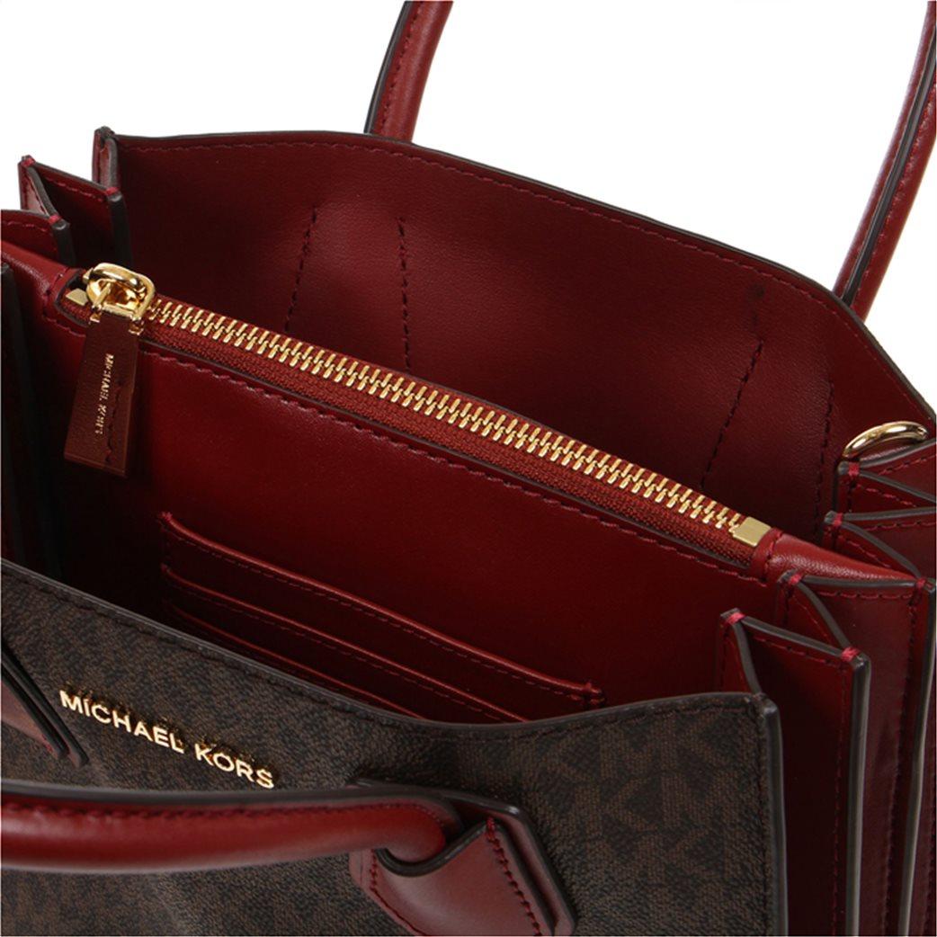 Michael Kors γυναικεία τσάντα crossbody με logo print 3