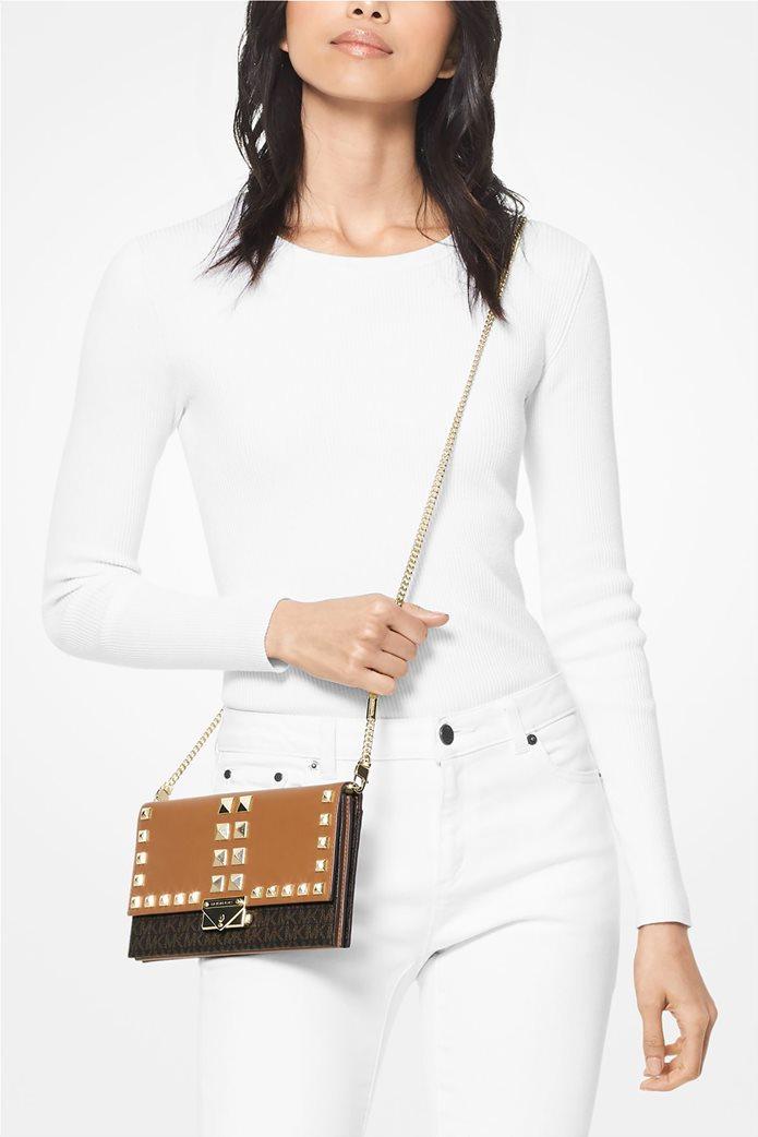 """Μichael Kors γυναικεία τσάντα crossbody με μεταλλικά στοιχεία """"Cece Large"""" 3"""