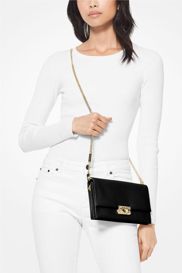 """Μichael Kors γυναικεία τσάντα crossbody με μεταλλικά αλυσίδα """"Cece Large"""" 3"""