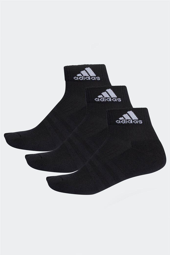 Adidas unisex σετ κάλτσες προπόνησης (3 τεμαχίων) μαύρο 0