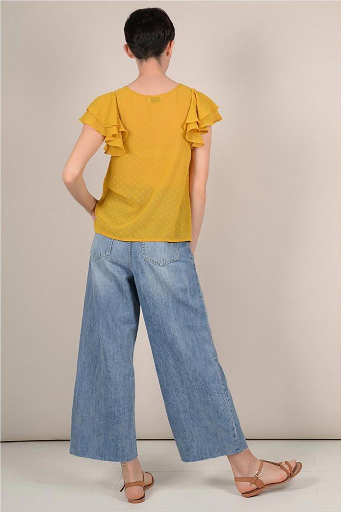 Molly Bracken γυναικεία μπλούζα με βολάν 3
