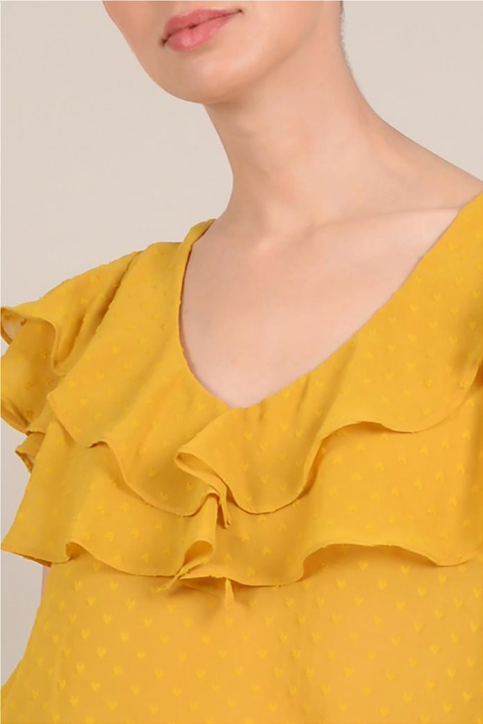 Molly Bracken γυναικεία μπλούζα με βολάν 4