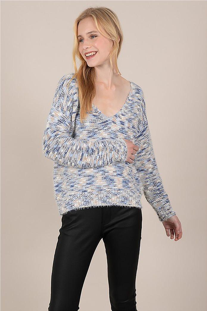 Molly Bracken γυναικεία πλεκτή μπλούζα μελανζέ 0